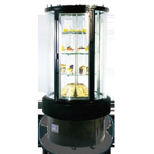 HX-S0立式圆柱型风冷柜