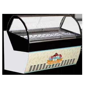 圆弧型冰淇淋柜