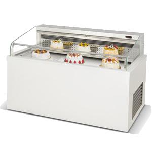 R&单面双层开放式三明治展示柜
