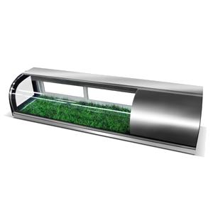 R&豪华弧形寿司展示冷柜