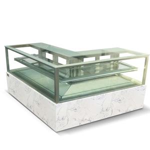 R&日式直角L型转角蛋糕展示柜