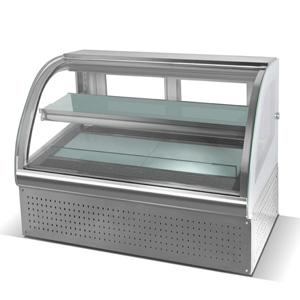 R&台式弧形双层前开门蛋糕展示柜