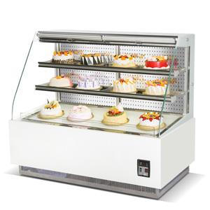 R&新款单弧敞开式三层展示冷柜B款