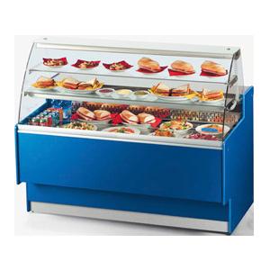 BX蓝色三层蛋糕柜