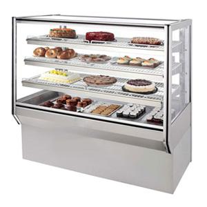 BXFour layer refrigerated dessert display case
