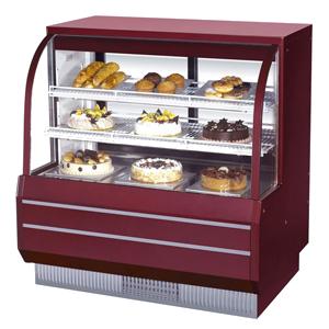 BX弧面开放式蛋糕柜