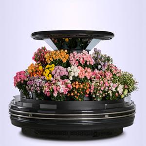 SG18YA-圆弧鲜花柜