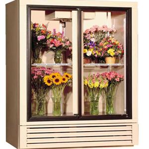Double door retro luxuryfloral display cases (various colors)