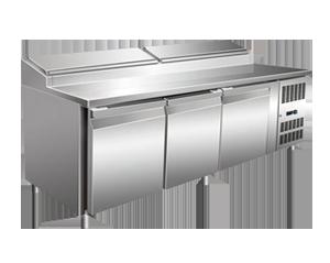 不锈钢披萨台冰箱系列SH3000