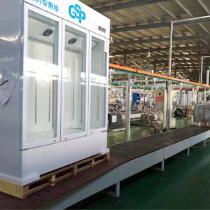 Medicine cabinet production line