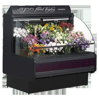 两次敞开式鲜花柜