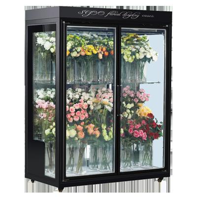 鲜花冷藏展示柜玻璃门鲜花展示柜