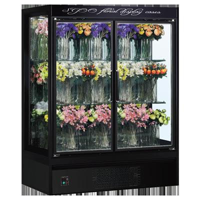 鲜花冷藏展示柜玻璃门冷藏展示柜