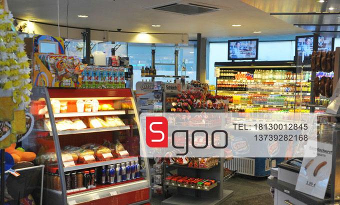 熟食冷藏展示柜价格_中石油加油站超市1-玻璃门陈列柜-水果保鲜柜,水果风幕柜 ...