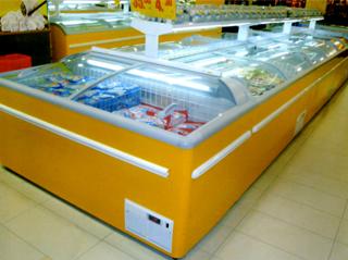 上海 康诚 组合式岛柜_超市工程案例